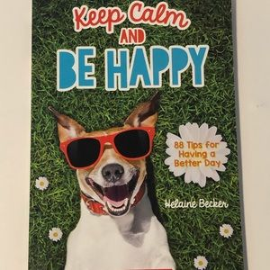 Keep Calm and Be Happy Kids Book- NEW 88 Tips